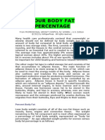 Your Percent Body Fat