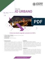 Volante Especialización en Derecho Urbano