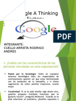 Google a Thinking Factory
