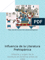 Influencia de La Literatura Prehispánica2015