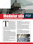 Modular silos and the benefits of a 'flat pack' design