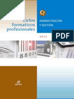 Catalogo CF Administración y Gestión