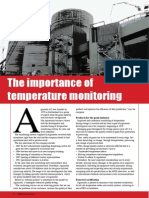 The importance of temperature monitoring