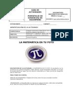 GUIA 14 DE ACTIVIDAD PDE   Fotografías Matemáticas