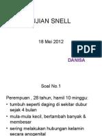 Ujian Snell 18-05-12