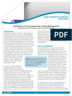Implications of Immunogenicity in Drug Development
