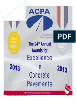 8 - McMullen and Schopf Concrete Pavement Awards Presentation