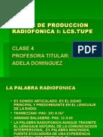 clase 4 radio