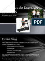 Cinesioterapia 9ª Aula- Princípios Do Exercício Aeróbico