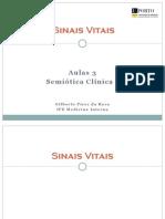 Sinais Vitais Semiótica FMUP