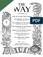 The Way 1962 Lectio Divina