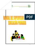 Manual Del Supervisor de Zona de Educación Prima