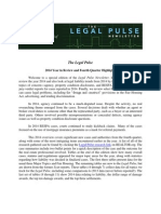 Legal Pulse Newsletter Q4 2014