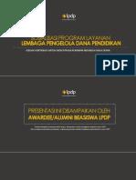 [Awardee - Alumni] Kebijakan Beasiswa LPDP 2015