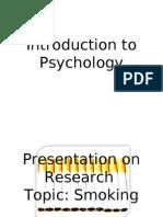 Introduction to Psychology Presentation