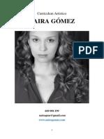 CV Naira Gómez 2015