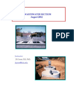 Waste Water Section Aug 2012