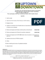 SOBO Meeting April 15, 2015 Agenda Packet