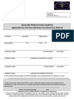 Medical Science Academy Application-15-16
