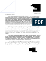 reference letter (practic)