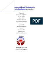 Statutory Provision and Legal Mechanism in Regard to Dower in Bangladesh Perspective