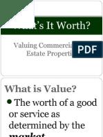 What's It Worth Presentation