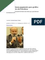 Vaccari Ordenou Pagamento Para Gráfica Lavar Dinheiro Da Petrobras