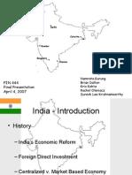 FIN 444 - India Final Presentation