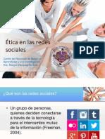 Etica en Las Redes Sociales