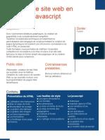 Javascript et html (1 page)