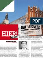 HIER! Wahlzeitung der LINKEN. Frankfurt (Oder) - 31.01.2010