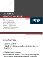 Chapter 10 Association Rule