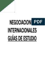 GUIAS NEGOCIACIONES INTERNACIONALES