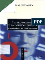 La Propaganda y La Opinion Publica - Chomsky, Noam