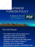 Japanese Foreign Policy Old.ppt
