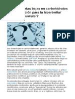 ARTICULOS INTERESANTES sobre hipertrofia