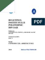 Constructii Arhitectura 3 Din 2014 Coperta Exterioara