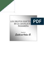 Panama Sobre Delito Electoral