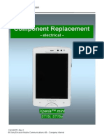 Sony Ericsson ST15 Xperia Mini Component Replacement - Electrical Rev2
