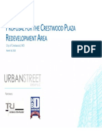 Proposal for the Crestwood Plaza Redevelopment Area by UrbanStreet - Crestwood, MO