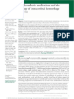 Antithrombotic Medications and the Etiology of Intracerebral Hemorrhage