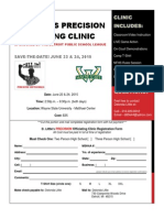 2015 D. Little's Precision Officiating Clinic Flyer