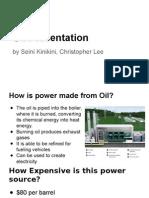 environmental science oil presentation