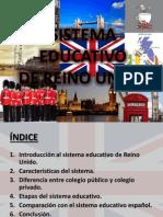 Sistema Educativo de Reino Unido