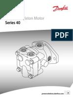 m25 Axial Piston Motor Series 40