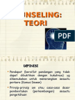 TEORI KAUNSELING