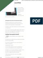 Como Validar Formulario HTML5 - PSD a HTML Paso a Paso