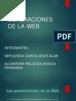 Generaciones de La Web