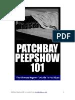 Patchbay Peepshow