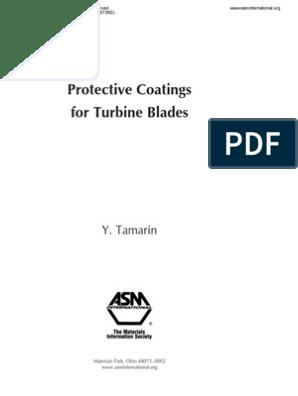 Protective Coatings for Turbine Blades | Gas Turbine